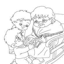 gd mère et enfants