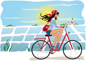 illustration-bicyclette-ile-de-re